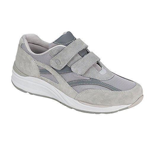 SAS Men's, Journey Mesh Slip on Walking Sneakers Gray 8.5 M