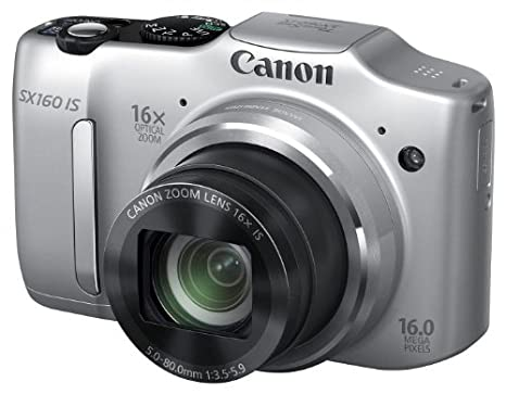 Canon Powershot SX160 IS - Cámara compacta de 16 Mp (pantalla de 3 ...