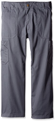 Carhartt Men's Petite Ripstop Multi-Cargo Scrub Pant Short, Dark Pewter, - Petite Men
