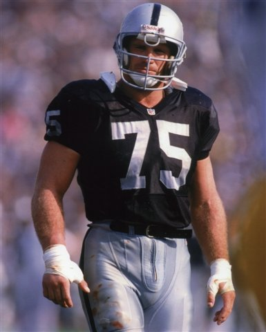 Howie Long Oakland Raiders 8X10 Sports Action Photo  15