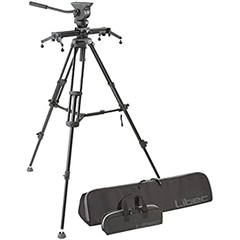 Libec ALX S4 Slider Kit, Includes Tripod, Fluid Head with Pan Handle, RC-20 Case, ALX S4 Silder Case