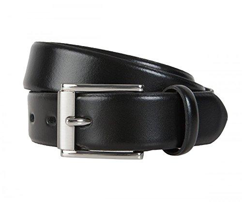 LLOYD Gürtel Herrengürtel Ledergürtel 112 05 , Länge:95 cm;Farbe:Schwarz