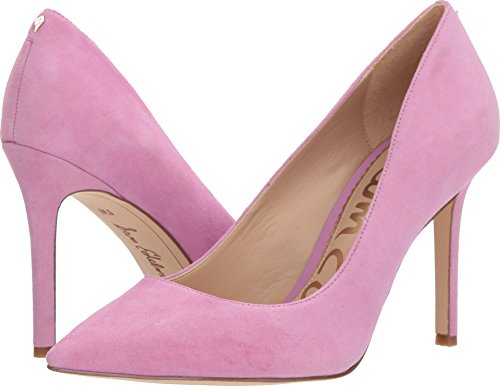 M Women Hazel Caramel Kid Pumps Suede US Sam Pink Women's 10 Leather Golden Fiji Edelman SqAzwx0B