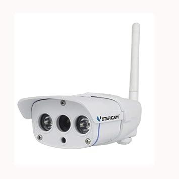 JUILARY-Cameras Vigilancia Cámara 720P HD Al Aire Libre Impermeable Teléfono Móvil Control Remoto Infrarrojos