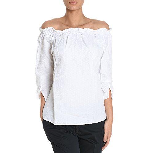 Eleventy Camicia Donna 980CA0015CAM190431 Cotone Bianco/Nero