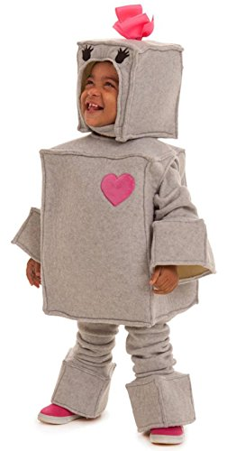 Princess Paradise Kids Rosalie the Robot Costume, 18m/2 Tall, Gray (Robot Costume Halloween)