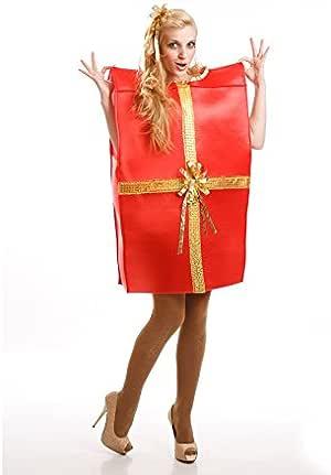 Disfraz de Caja de Regalo para adultos: Amazon.es: Ropa y accesorios