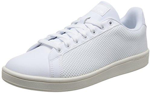 Uomo Chalk White White Basse Footwear Footwear White Ginnastica Cloudfoam Scarpe Bianco adidas Clean da Advantage F7qOwF10A