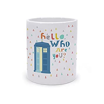Frikids Taza ceramica hello azul Brands Products