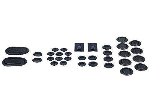 - New 1967 Ford Mustang, Mercury Cougar Rubber Plug 33 Piece Kit for Fender Trunk Floor Pan Frame Rail (376700)
