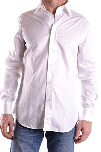 Mens Clothing Gianfranco Ferre (GIANFRANCO FERRÉ Men's Mcbi136008o White Cotton Shirt)
