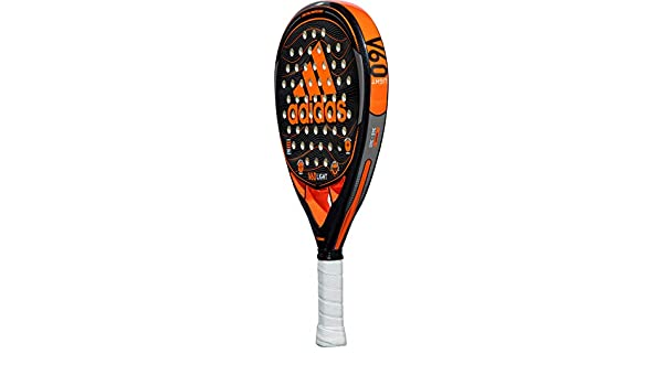adidas V60 Light Orange/Grey/Charcoal Intermediate Padel Racket