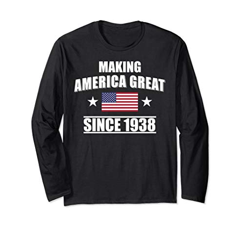 Happy 1938 My 80 th Birthday Gift Ideas T shirt for -