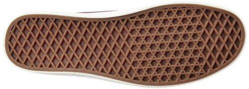 Vans Mn Michoacan Sf, Zapatillas para Hombre Rojo (Herringbone Twill Port Royale)