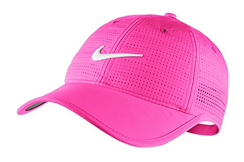 Galleon - Nike Golf Women s Perforated Cap PINK POW HOT PINK WHITE 4b9bf472d572
