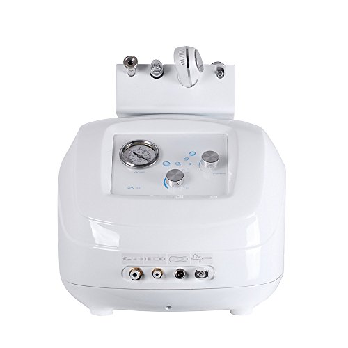 Funwill Professional Hydra Dermabrasion Water Jet Facial Hydro Peel Skin Rejuvenation Beauty Machine Diamond Micro-carving Remove Aging Keratin Promote Device Vacuum SPA, Shrinking Massage While Wome by Funwill