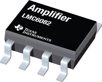 Texas Instruments Linear IC - Operationsverstärker LMC6082IN/NOPB Mehrzweck PDIP-8: Amazon.es: Electrónica
