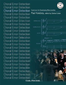 Error Detection (Choral Error Detection: Exercises for Developing Musicianship)