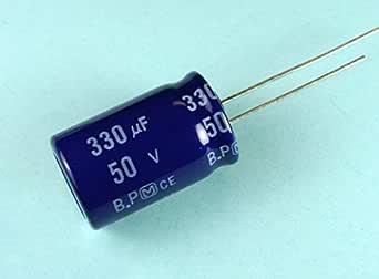 20pcs Panasonic YZ-BP Series 3.3uF//50V Audio Non-Polar Electrolytic Capacitor