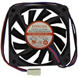 Evercool 60 x 60 x 10mm High-Speed Fan 3pin EC6010HH12CA