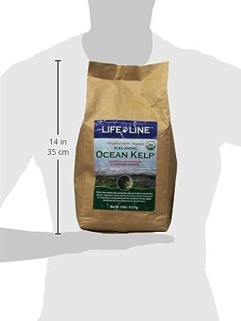 Línea de Vida orgánica mar Kelp Suplemento para Perros y ...