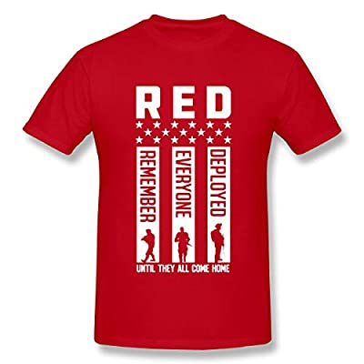 CrazWear Red Friday - Remember Everyone Deployed Gift Men's T-Shirt