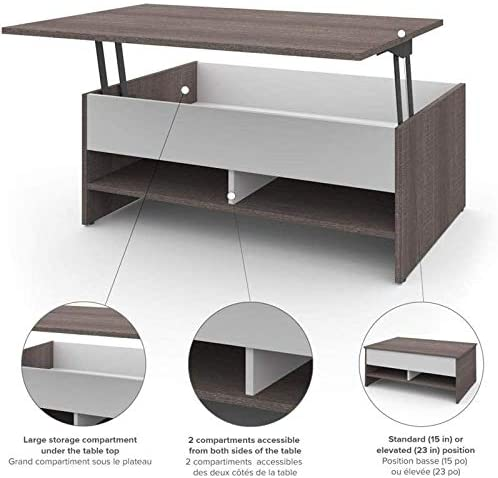 Pemberly Row Lift Top Coffee Table