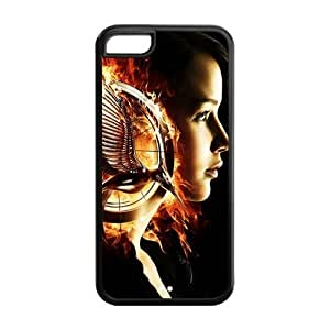 Customize Hunger Games Apple Case Suitable for iphone5C JN5C-1439 Kimberly Kurzendoerfer