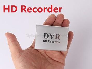 Amazon.com: Grabador de audio digital video Mini DVR 30 fps ...