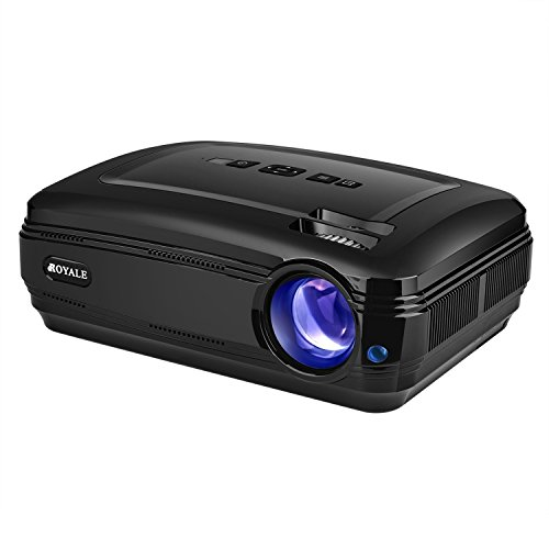 CROYALE PJ-58 Video Projector 1080P HD Home...