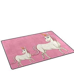 Amazon Com Unicreate Modern Area Rugs Unicorn Print 3x5