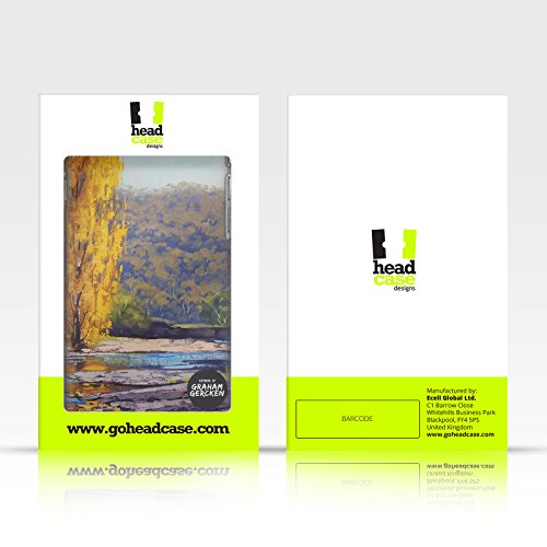 Officiel Graham Gercken Paysage d'Arbre Automne Étui Coque De Livre En Cuir Pour Apple iPhone 4 / 4S