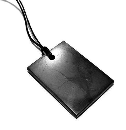 Shungite Stone Men's Pendant ( (Grams Stone Pendants)