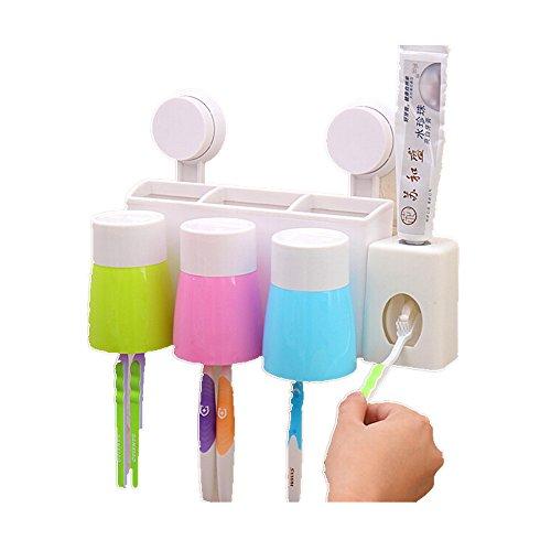 banpa wall suction creative toothbrush holder cup hanger 789464181752 ebay. Black Bedroom Furniture Sets. Home Design Ideas