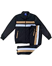 Men's Tracksuit Classic Activewear Track Jacket & Track pants 2-Piece Outfit