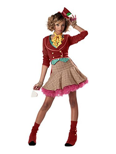 California Costumes The Mad Hatter Costume,Multi,Teen (11-13) for $<!--$24.99-->