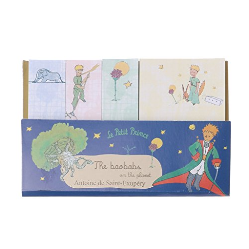 Lamdoo Creative little Prince Memo Pad weekly plan Sticky Note stationery School Supply 1 ()