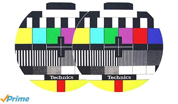 Slipmat Técnicas TV (Doppelpack): Amazon.es: Instrumentos musicales