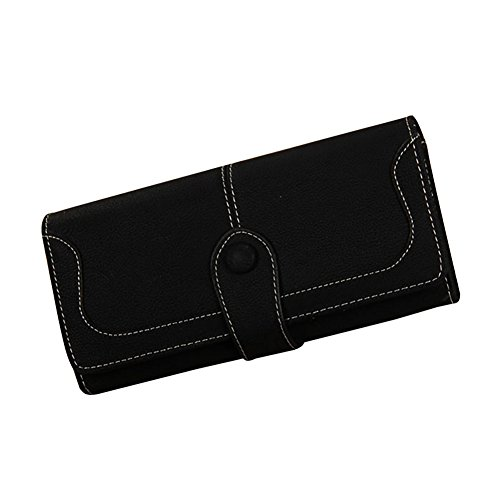 TJEtrade Wallets for Women Suede Leather Purses Luxury Clutch Card Holder (Leather Suede Wallet)