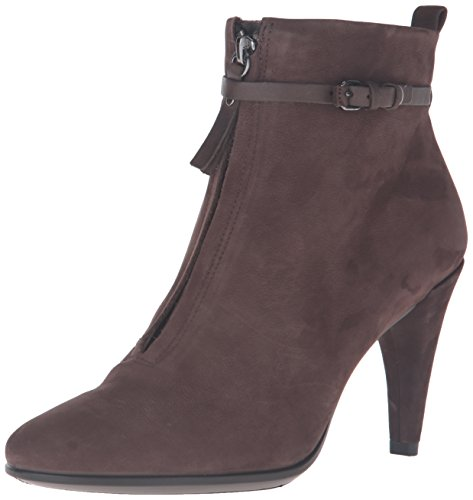 ECCO Women's Women's Shape 75 Sleek Ankle Boot, Coffee Nubuck, 38 EU/7-7.5 M (Ecco Nubuck Boots)