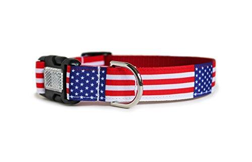 American Flag Dog Collar ()