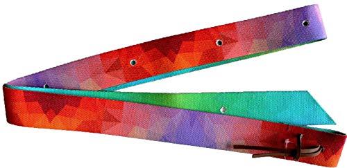 Cinch Nylon (PRORIDER Horse Colorful Nylon Tie Cinch Strap Western Saddle w/Hole Horse Tack 97S06)