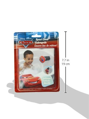 Disney Cars Inflatable Safety Spout Cover, Red