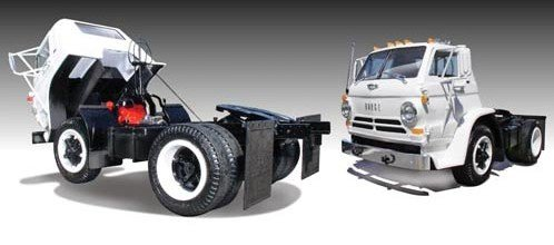 Lindberg 1/24 1969 Dodge L700 Tilt Cab Truck Kit (Dodge Model Kits Trucks)
