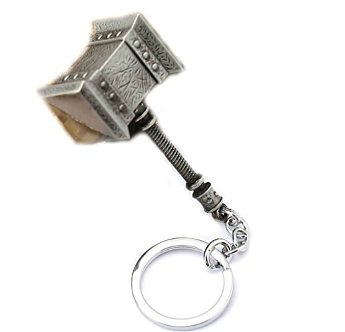 Outlander Gear World of Warcraft Ogrim Thrall Doomhammer Keychain Includes Gift Box