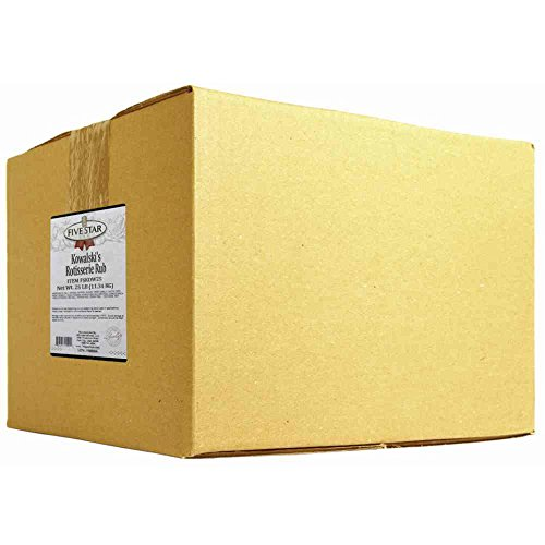 Five Star Foodbase Five Star Rotisserie Kowalski Blend, 25 Pound -- 1 each. by Five Star Foodbase