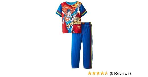 SGI Apparel Group Big Boys Superman Comic Style Pajama