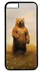 Bear Standing Masterpiece Limited Design PC Black Case for iphone 6 plus by Cases & Mousepads