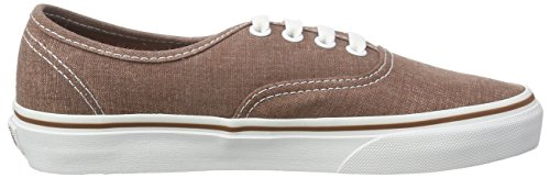 Marrone Washed Sneakers U Unisex Brown Vans Washed Authentic TwCFqcxg
