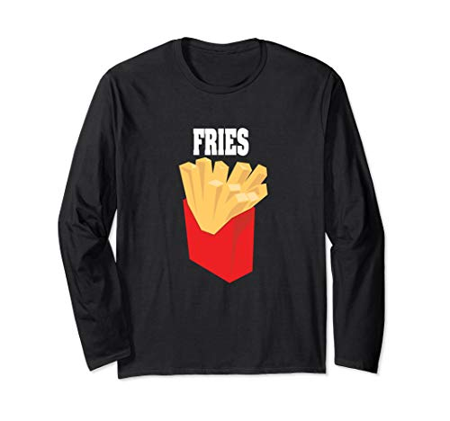 French Fries Halloween Costume Long Sleeve Shirt Group ()